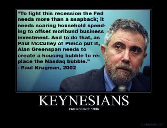 Keynesians - Failing since 1936