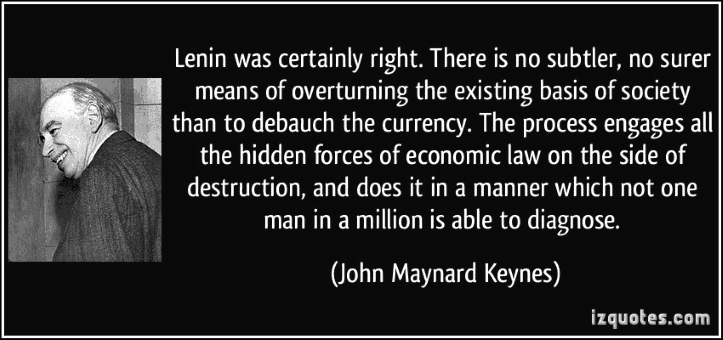 Keynes Would Be Buying Gold Hand Over Fist